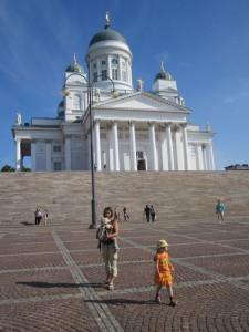 центральная площадь Хельсинки